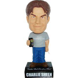 Charlie Sheen Bobblehead