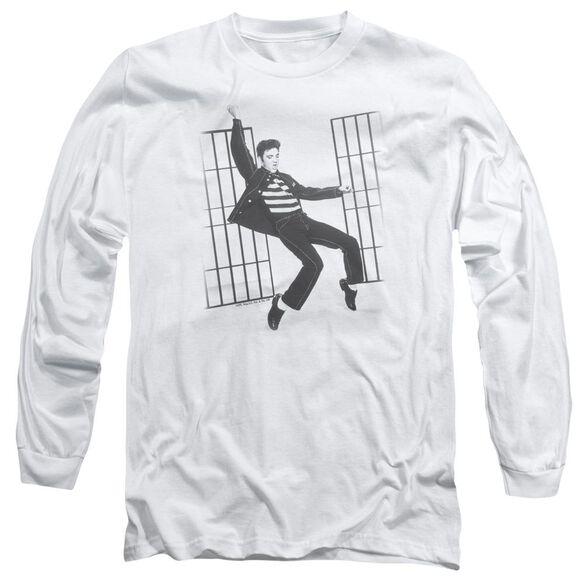 Elvis Presley Jailhouse Rock Long Sleeve Adult T-Shirt