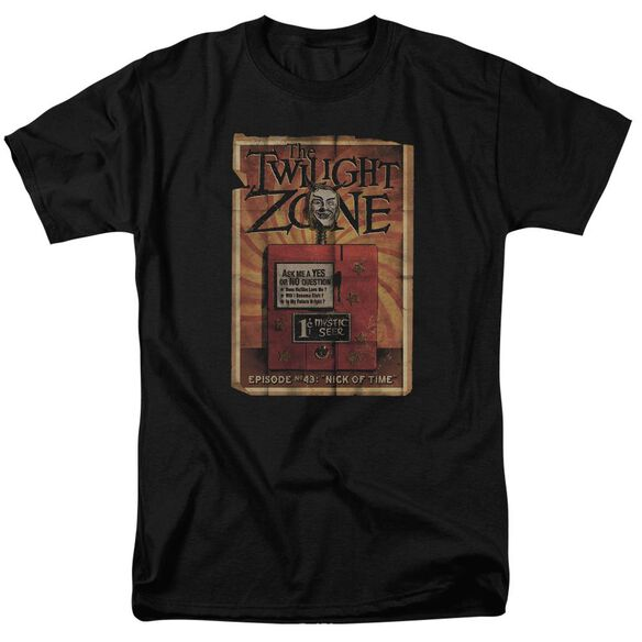 TWILIGHT ZONE SEER - S/S ADULT 18/1 - BLACK T-Shirt