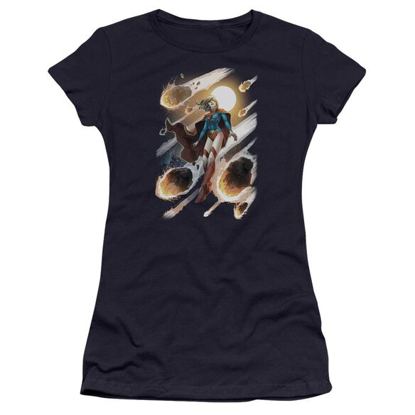 Jla Supergirl #1 Premium Bella Junior Sheer Jersey