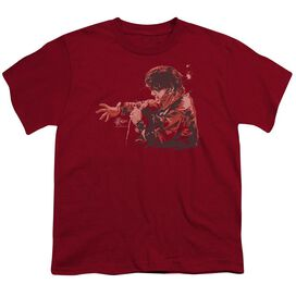Elvis Red Comback Short Sleeve Youth T-Shirt