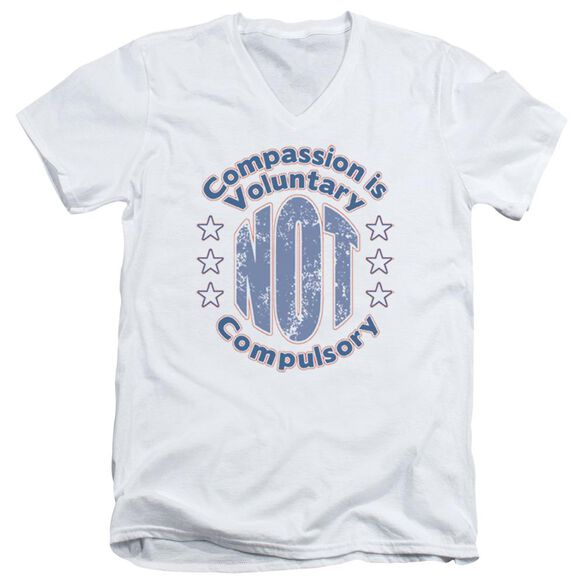 Compassion Short Sleeve Adult V Neck T-Shirt