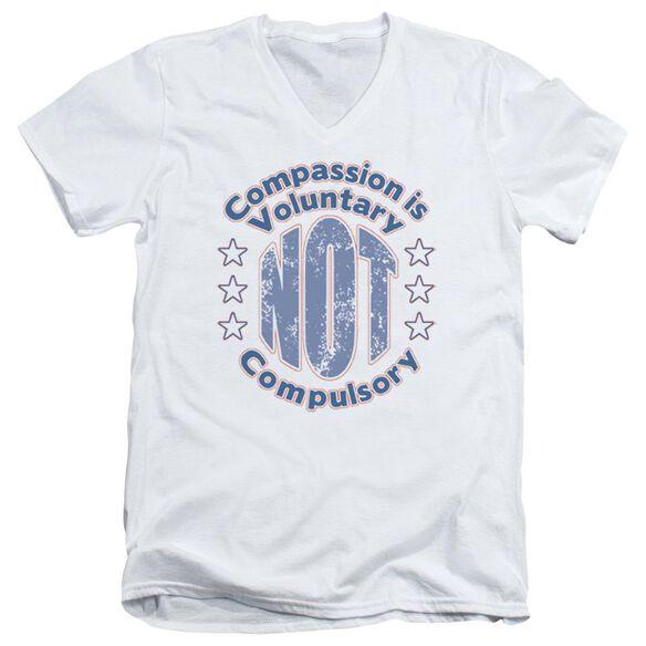 Compassion Short Sleeve Adult V Neck T-Shirt