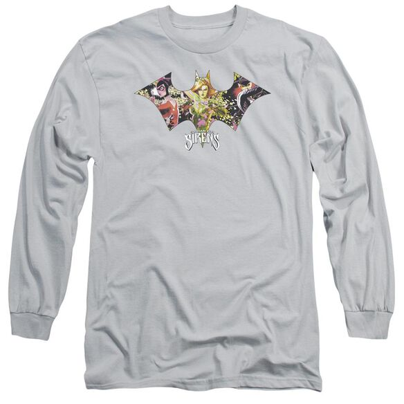 Batman Sirens Bat Long Sleeve Adult T-Shirt
