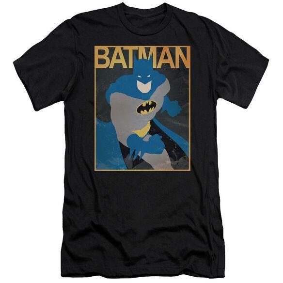 Batman Simple Bm Poster Short Sleeve Adult T-Shirt