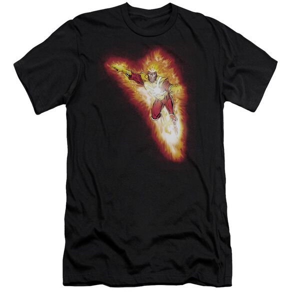 Jla Firestorm Blaze Short Sleeve Adult T-Shirt