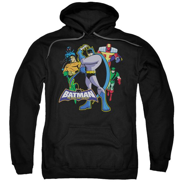 Batman Bb Waiting Adult Pull Over Hoodie