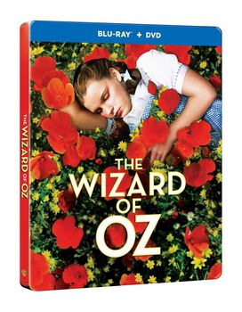 The Wizard Of Oz [Exclusive Blu-ray + DVD Steelbook]