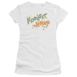 Forrest Gump Peas And Carrots Short Sleeve Junior Sheer T-Shirt