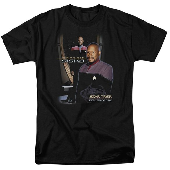Star Trek Captain Sisko Short Sleeve Adult T-Shirt