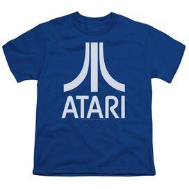Atari Atari Logo Short Sleeve Youth Royal T-Shirt