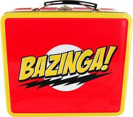 Big Bang Theory Bazinga Lunch Box