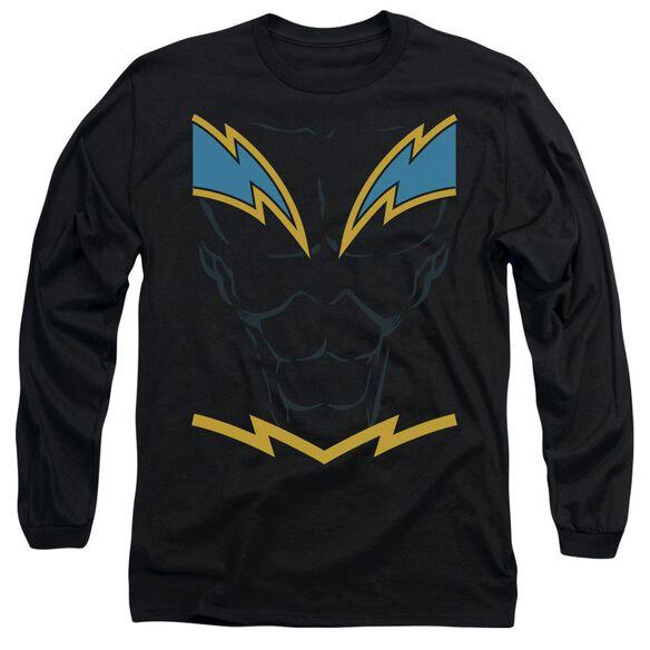 Jla Lightning Long Sleeve Adult T-Shirt