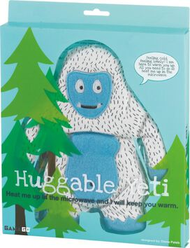 Heatable Huggable Yeti Pillow