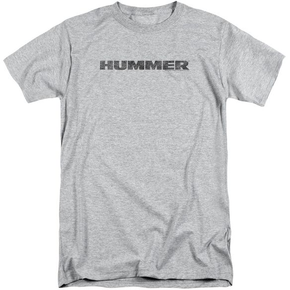Hummer Distressed Hummer Logo Short Sleeve Adult Tall Athletic T-Shirt