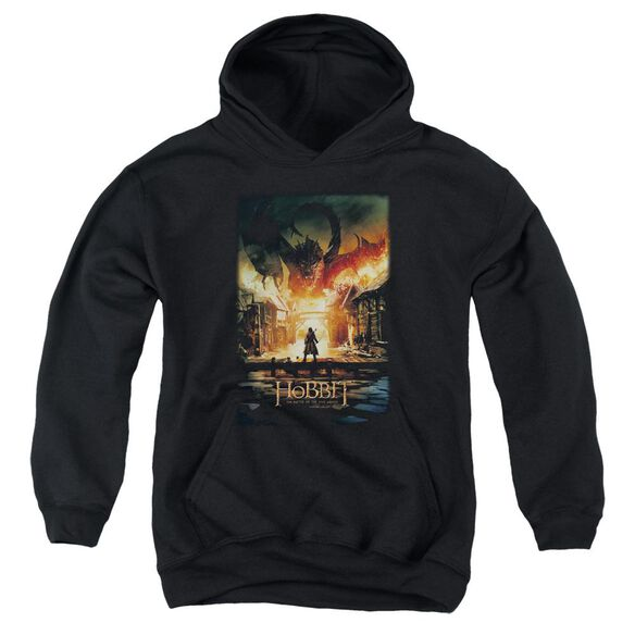 Hobbit Smaug Poster Youth Pull Over Hoodie