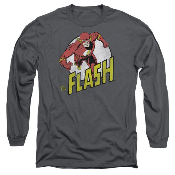 Dc Flash Run Flash Run Long Sleeve Adult T-Shirt