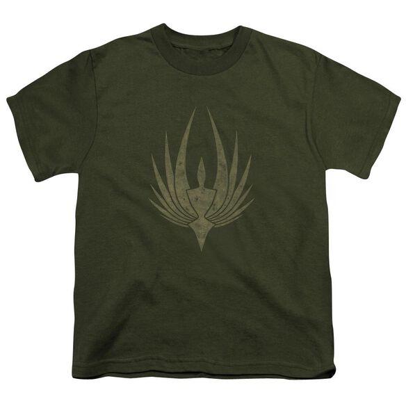 Bsg Phoenix Short Sleeve Youth Military T-Shirt