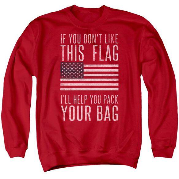 Pack Your Bag Adult Crewneck Sweatshirt