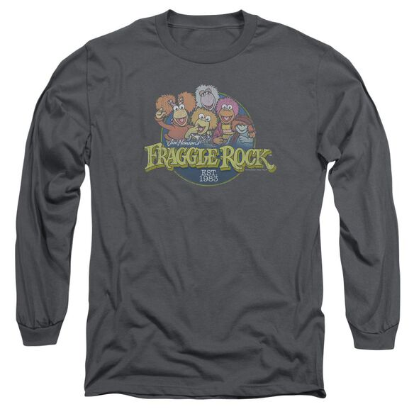 Fraggle Rock Circle Logo Long Sleeve Adult T-Shirt