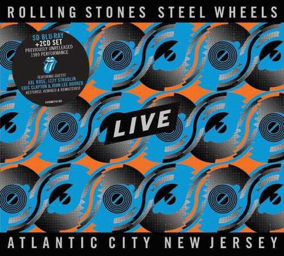 The Rolling Stones - Steel Wheels Live (Live From Atlantic City, NJ, 1989) [2CD/Blu-ray]