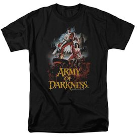 ARMY OF DARKNESS BLOODY POSTER-S/S T-Shirt