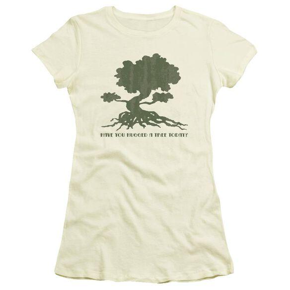 Tree Hugger Short Sleeve Junior Sheer T-Shirt