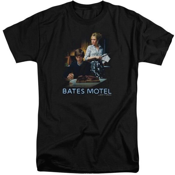 Bates Motel Die Alone Short Sleeve Adult Tall T-Shirt