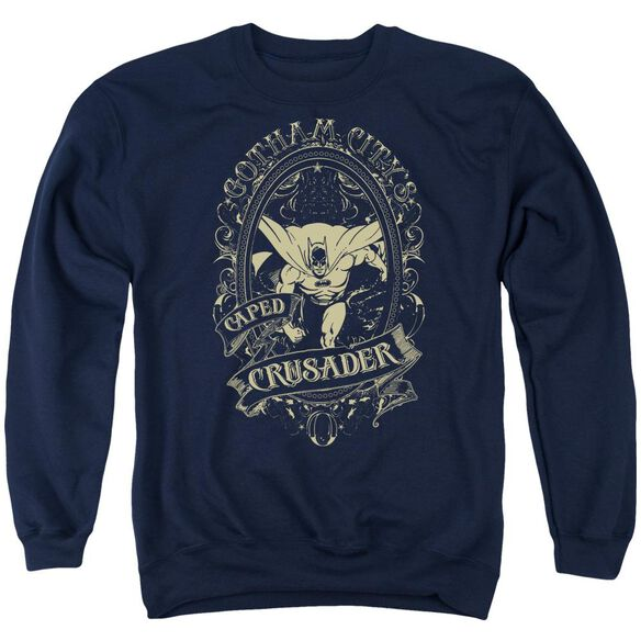 Dc Gotham Crusader Adult Crewneck Sweatshirt