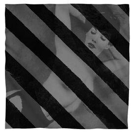 Bettie Page Black Stripes Bandana