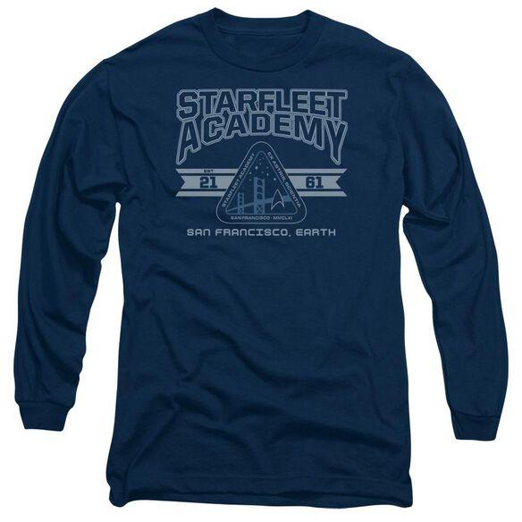 Star Trek Starfleet Academy Earth Long Sleeve Adult T-Shirt