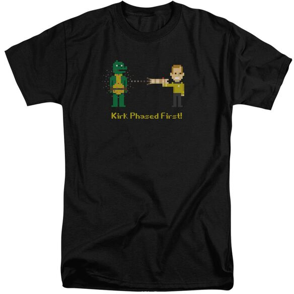 Star Trek Kirk Phased First Short Sleeve Adult Tall T-Shirt