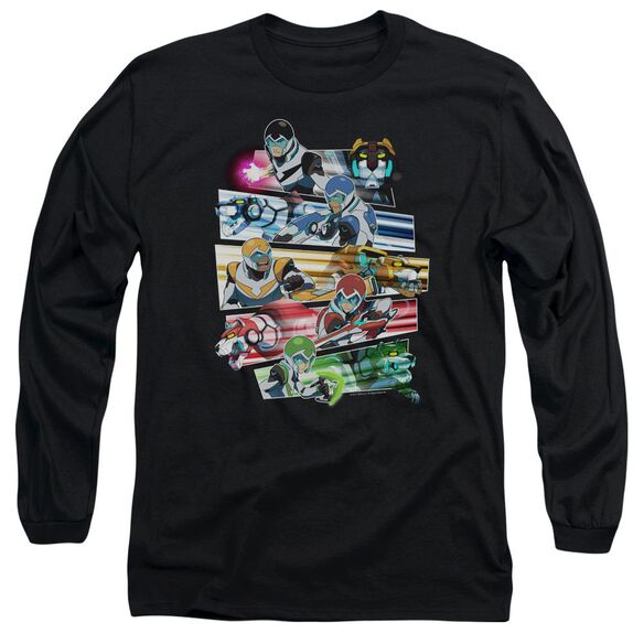 Voltron Paladins Strike Long Sleeve Adult T-Shirt