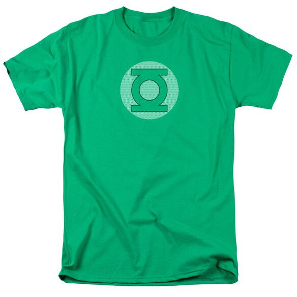 Dc Gl Little Logos Short Sleeve Adult Kelly Green T-Shirt
