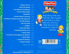 Various Artists - Little People: Favorite Animal Songs