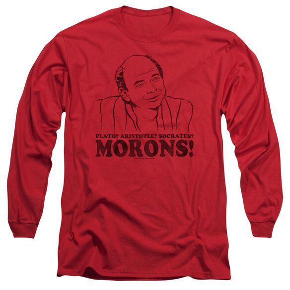 Princess Bride Morons Long Sleeve Adult T-Shirt