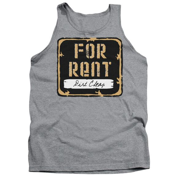 For Rent - Adult Tank - Athletic Heather