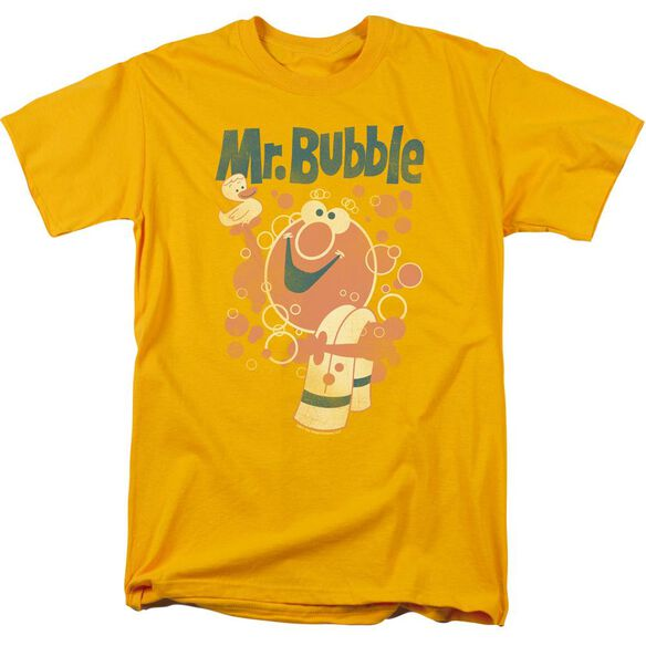 Mr Bubble Towel And Duckie Short Sleeve Adult T-Shirt