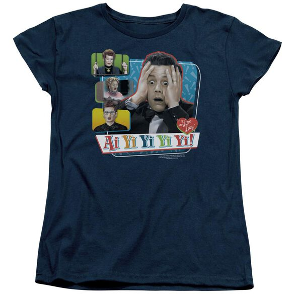 I Love Lucy Ai Yi Yi Yi Yi Short Sleeve Womens Tee T-Shirt