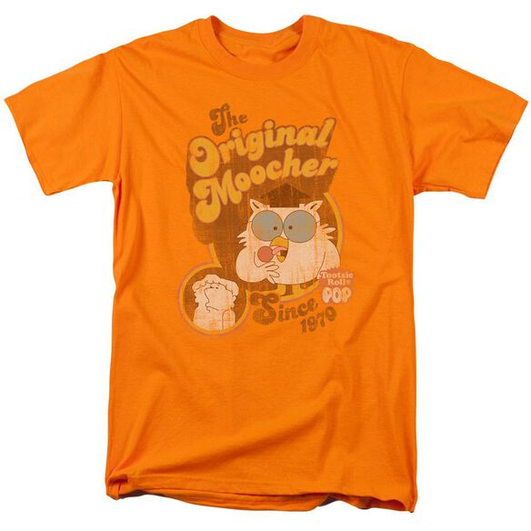 Tootsie Roll Original Moocher Short Sleeve Adult Orange T-Shirt