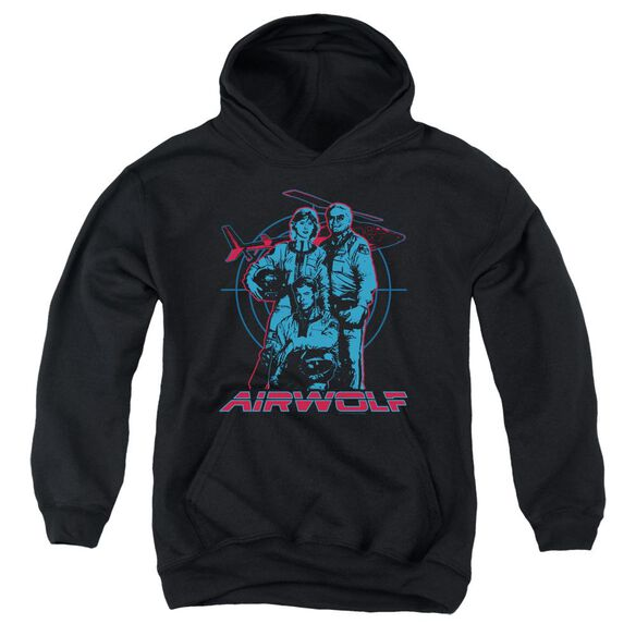 Airwolf Graphic Youth Pull Over Hoodie