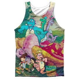 Dragon Tales Mushroom Meadow Adult Poly Tank Top