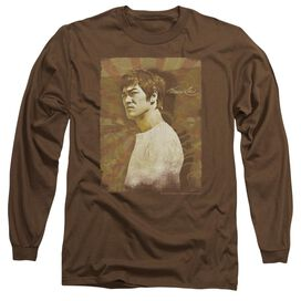 Bruce Lee Anger Long Sleeve Adult T-Shirt