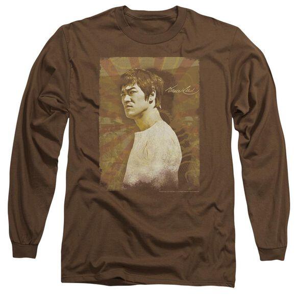 Bruce Lee Anger Long Sleeve Adult T-Shirt