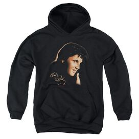 Elvis Presley Warm Portrait-youth Pull-over Hoodie