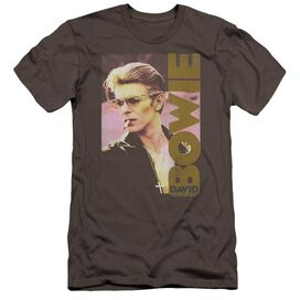 David Bowie Smokin Hbo Short Sleeve Adult T-Shirt
