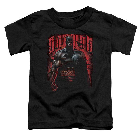 Batman Red Knight Short Sleeve Toddler Tee Black Lg T-Shirt