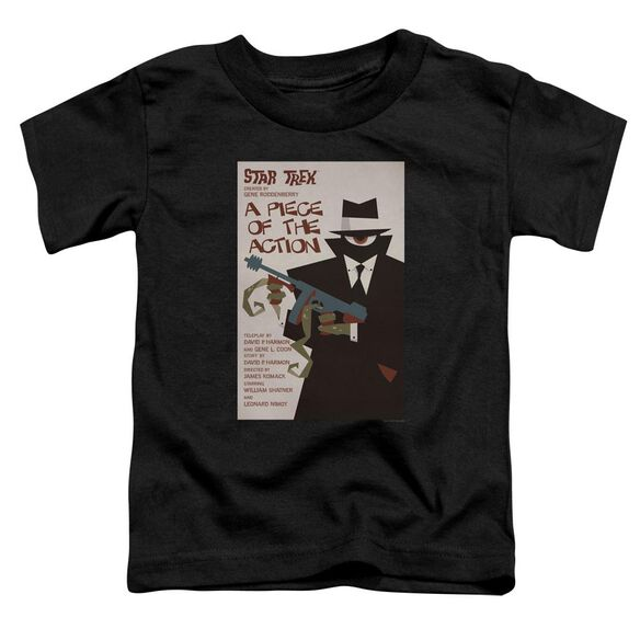 Star Trek Tos Episode 46 Short Sleeve Toddler Tee Black Sm T-Shirt