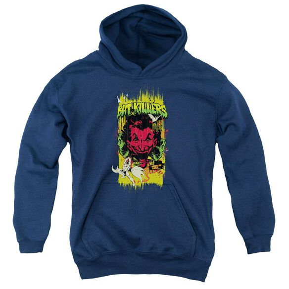 Batman Bat Killers 2 Youth Pull Over Hoodie