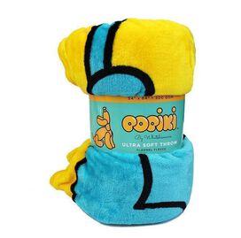 Popiki Ultra Soft Throw Fleece Blanket